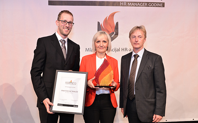 Ana Fostač-Krilčić iz dm-drogerie markt najbolja je HR menadžerica godine